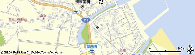大分県国東市国東町富来浦2095周辺の地図