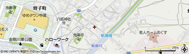 大分県中津市蛎瀬691周辺の地図