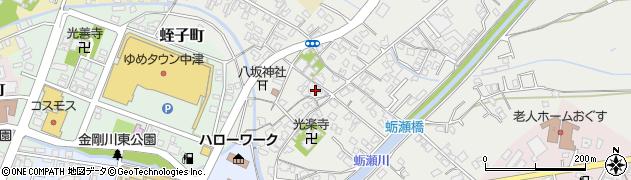 大分県中津市蛎瀬368周辺の地図
