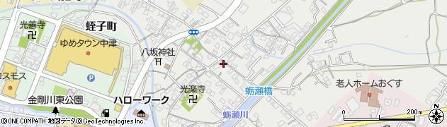 大分県中津市蛎瀬681周辺の地図