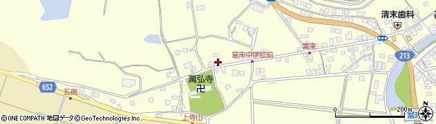 大分県国東市国東町富来浦179周辺の地図