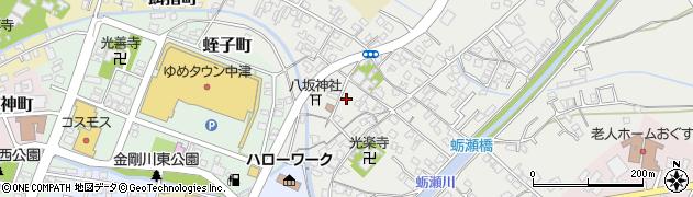 大分県中津市蛎瀬360周辺の地図