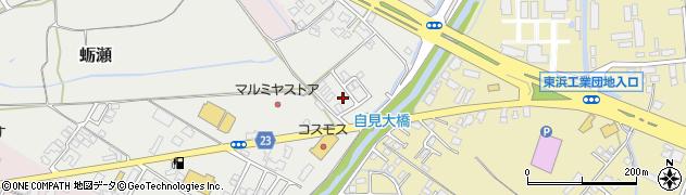 大分県中津市蛎瀬1131周辺の地図