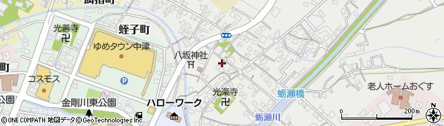 大分県中津市蛎瀬366周辺の地図
