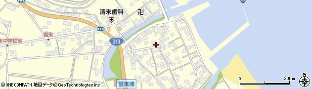 大分県国東市国東町富来浦2152周辺の地図