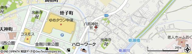 大分県中津市蛎瀬430周辺の地図