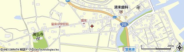 大分県国東市国東町富来浦1341周辺の地図