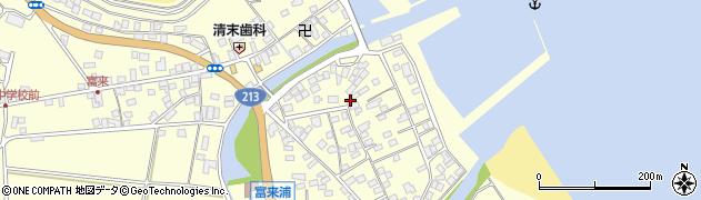 大分県国東市国東町富来浦2164周辺の地図