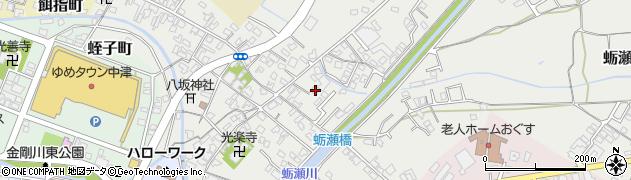 大分県中津市蛎瀬657周辺の地図
