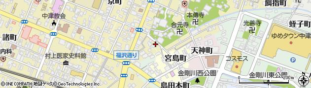 普門院周辺の地図