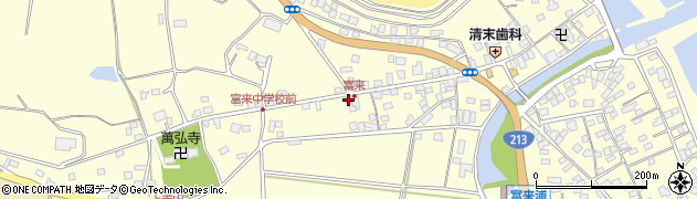 大分県国東市国東町富来浦1348周辺の地図