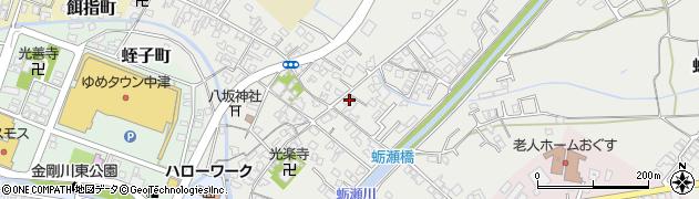 大分県中津市蛎瀬679周辺の地図
