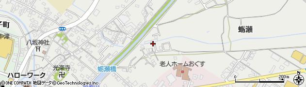 大分県中津市蛎瀬800周辺の地図