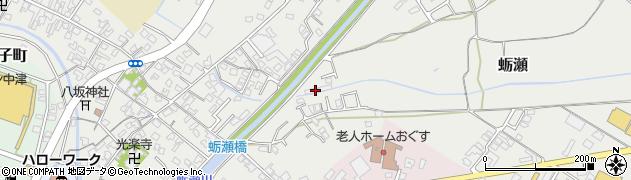 大分県中津市蛎瀬891周辺の地図