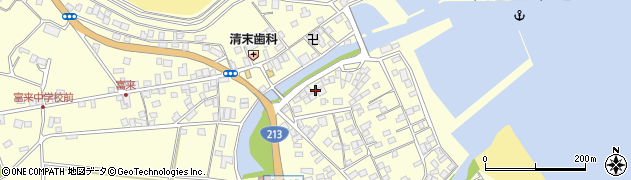 大分県国東市国東町富来浦2133周辺の地図