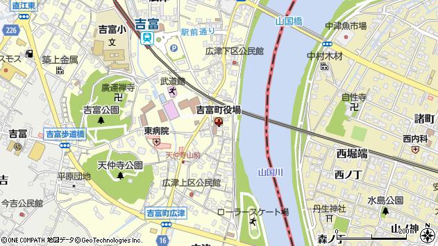 〒871-0000 福岡県築上郡吉富町(以下に掲載がない場合)の地図
