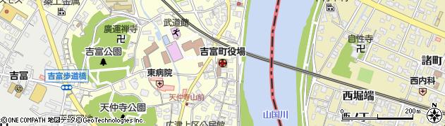 福岡県築上郡吉富町周辺の地図