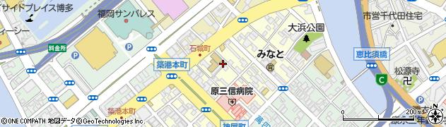 福岡県福岡市博多区大博町周辺の地図