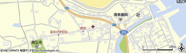 大分県国東市国東町富来浦1331周辺の地図