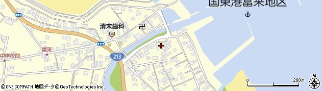 大分県国東市国東町富来浦2148周辺の地図