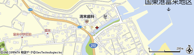 大分県国東市国東町富来浦1458周辺の地図
