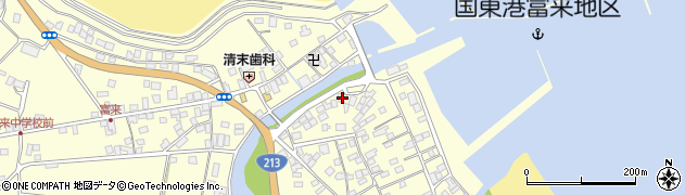 大分県国東市国東町富来浦2143周辺の地図