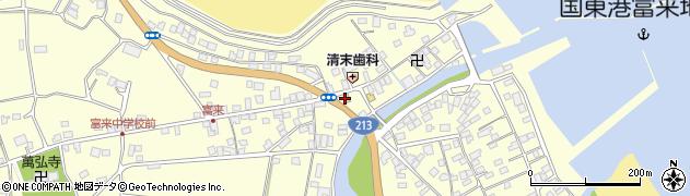 大分県国東市国東町富来浦1432周辺の地図
