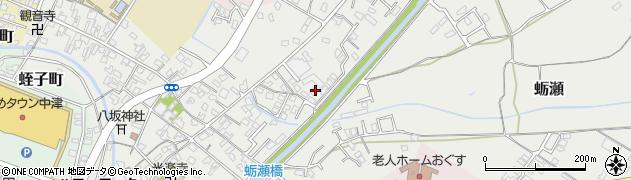 大分県中津市蛎瀬646周辺の地図