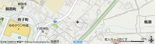 大分県中津市蛎瀬648周辺の地図