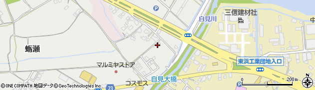 大分県中津市蛎瀬1139周辺の地図