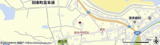 大分県国東市国東町富来浦187周辺の地図