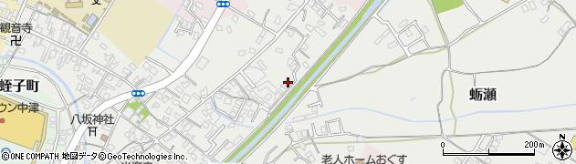 大分県中津市蛎瀬644周辺の地図