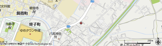 大分県中津市蛎瀬597周辺の地図