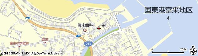 大分県国東市国東町富来浦1498周辺の地図