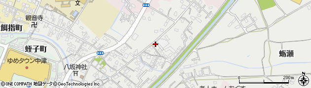 大分県中津市蛎瀬647周辺の地図