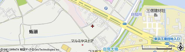 大分県中津市蛎瀬1147周辺の地図