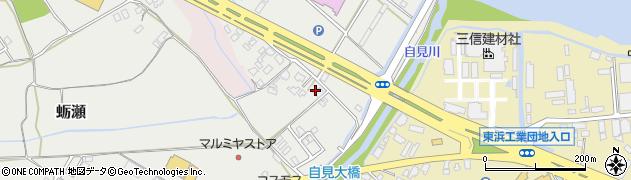 大分県中津市蛎瀬1142周辺の地図
