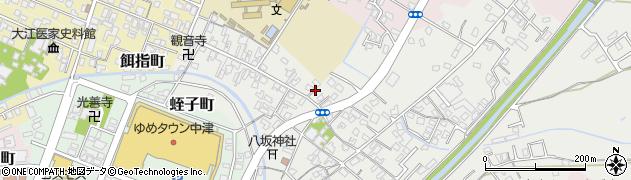 大分県中津市蛎瀬394周辺の地図