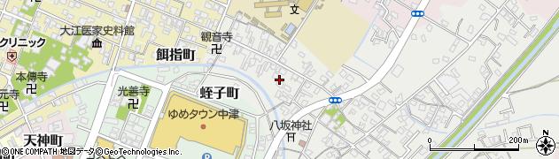 大分県中津市蛎瀬西蛎瀬周辺の地図
