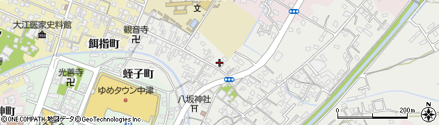 大分県中津市蛎瀬395周辺の地図