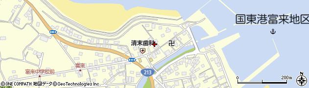 大分県国東市国東町富来浦1463周辺の地図