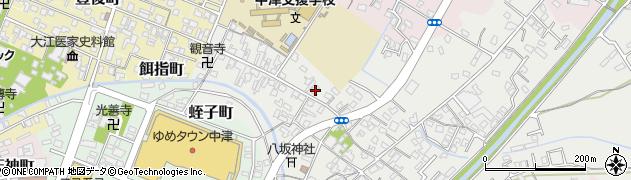 大分県中津市蛎瀬578周辺の地図