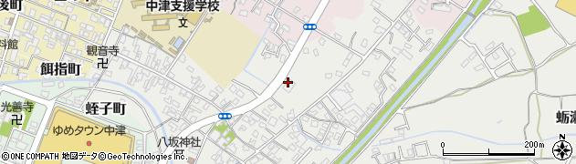 大分県中津市蛎瀬600周辺の地図