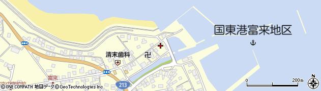 大分県国東市国東町富来浦1532周辺の地図