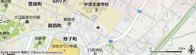 大分県中津市蛎瀬572周辺の地図