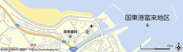 大分県国東市国東町富来浦1515周辺の地図