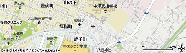 大分県中津市蛎瀬494周辺の地図