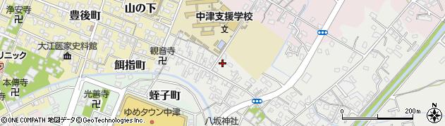 大分県中津市蛎瀬567周辺の地図