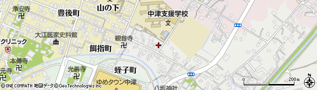 大分県中津市蛎瀬555周辺の地図