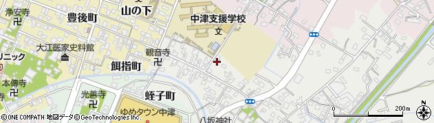 大分県中津市蛎瀬564周辺の地図